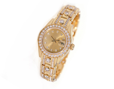 Rolex Gold And Diamond Watches